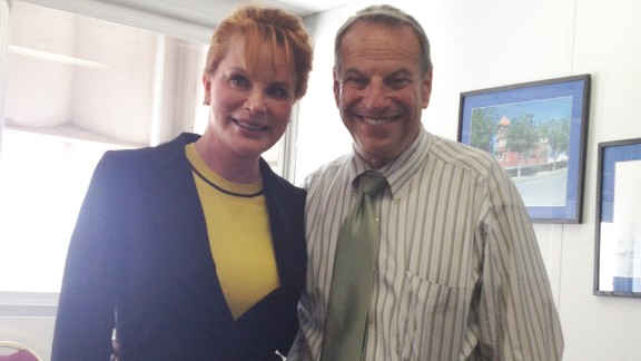 Businesswoman Dianne York told CNN that San Diego Mayor Bob Filner put his hands on her buttocks during this photo op after a meeting three months ago. York said there were witnesses. She said both her advisers and Filner's were in the room at the time. Click through the gallery of other women who have come forward in the case.