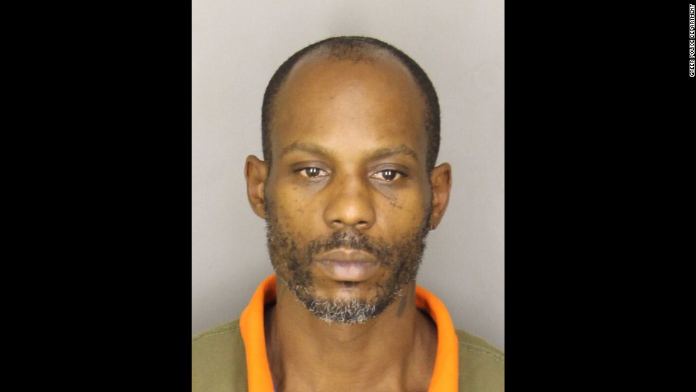 Rapper DMX was arrested in South Carolina and held for three hours in November 2013 before posting bail on charges of driving with a suspended license and having no car tag or insurance, according to the Spartanburg County Detention Center website. DMX, whose real name is Earl Simmons, has been arrested three times in the state since July 2013.