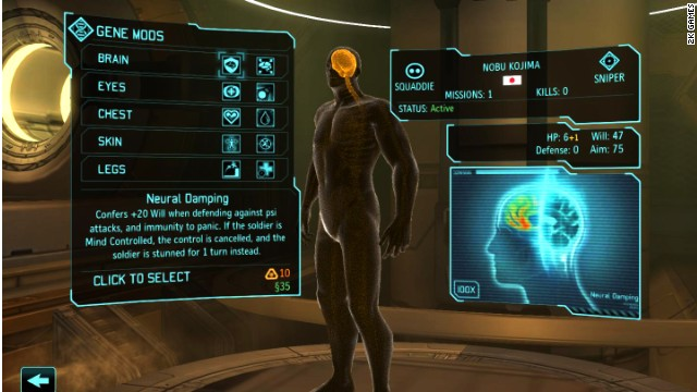 "In ""XCOM: Enemy Within,"" players can use alien technology to enhance their troops"