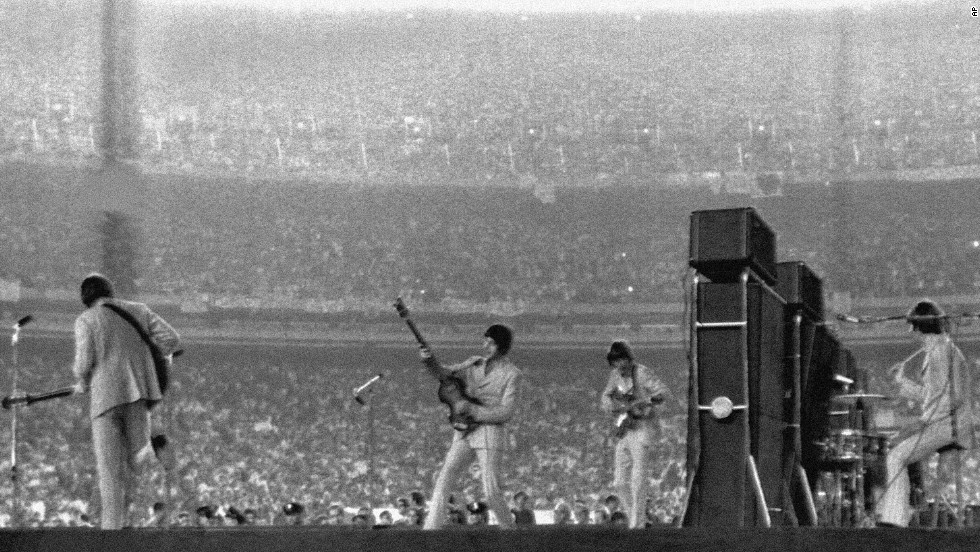 Bernstein also set up the Beatles' historic 1965 performance in Shea Stadium where they played before a crowd of 45,000.