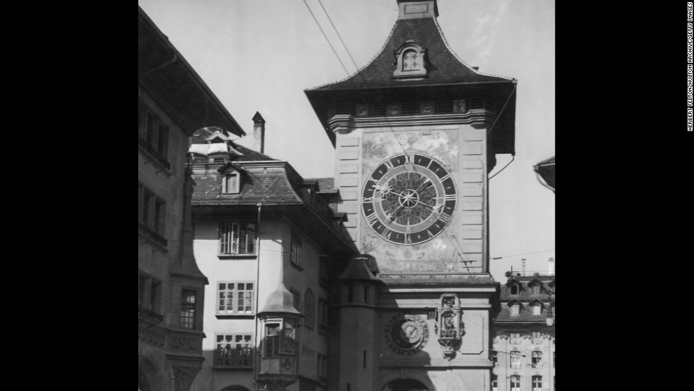 The Zytglogge clock tower in Bern, Switzerland, dates to the early 13th century and the clock itself to 1530.