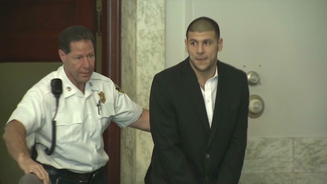 2013: Aaron Hernandez indicted in murder case