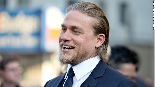"Charlie Hunnam arrives at the premiere of  ""Pacific Rim"" in Hollywood, California in July 2013."