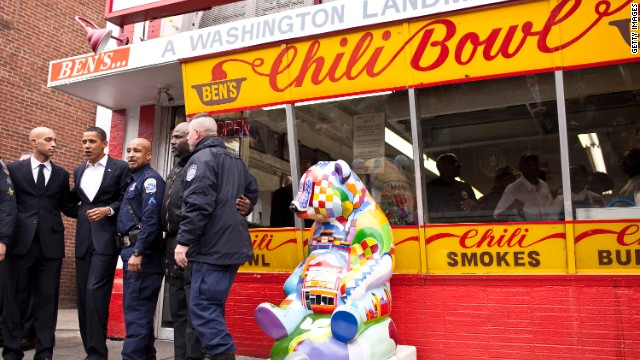 Bill Cosby a legend at landmark DC eatery, Ben's Chili Bowl