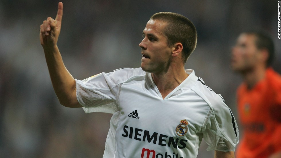 Owen had a successful career with Liverpool before moving to Spanish club Real Madrid in 2004. He scored 14 goals in 40 games before returning to England with Newcastle in August 2005, and also played for Manchester United and Stoke.