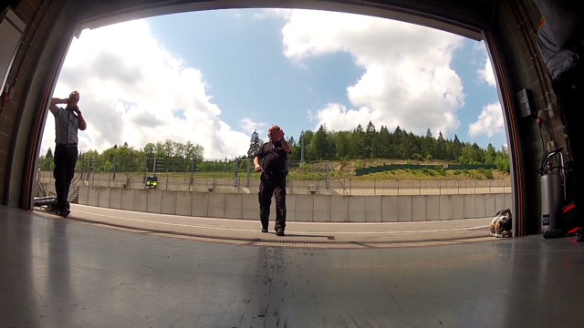 Watch adrenaline-filled tour of Spa track