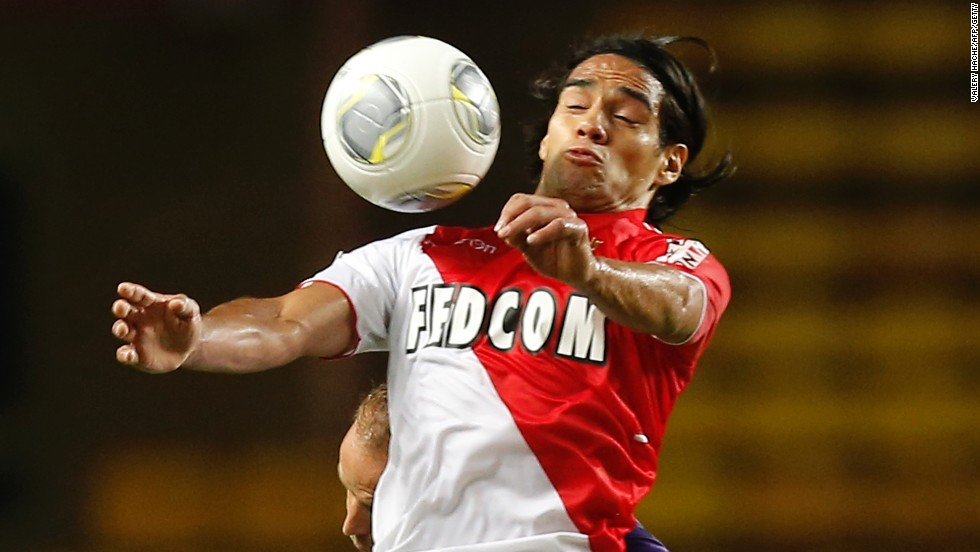 Falcao played 23 league games for Monaco, scoring 13 goals, including two this season.