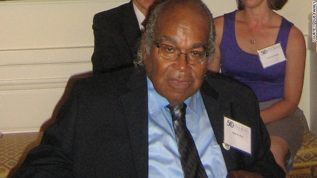 John Due attending a White House event earlier in August commemorating the 50th anniversary of The Lawyers' Committee for Civil Rights.