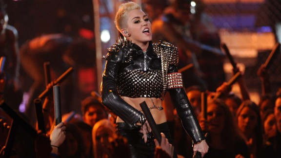 "The grown-up Cyrus performs during the ""VH1 Divas"" concert in Los Angeles in December 2012."