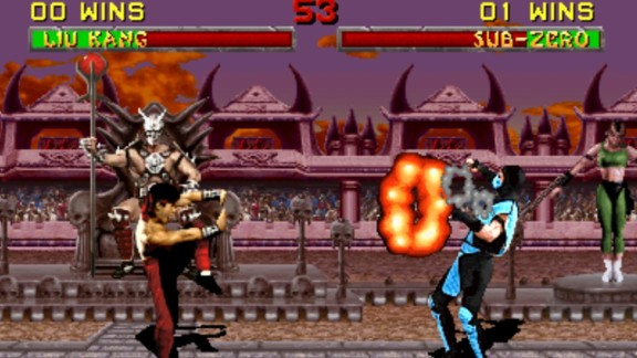 """""""Mortal Kombat"""" launched a widespread conversation about violence in games and, eventually, a game rating system."""