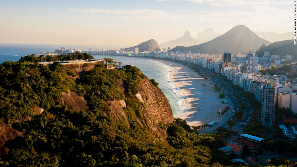 Answer: Rio di Janeiro, host city of the 2016 Olympic Games.