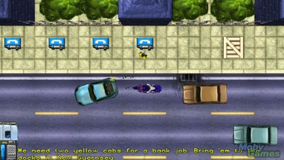 """Multiple lawsuits were filed against the makers of """"Grand Theft Auto,"""" which put players in the role of criminals and allowed them to do all manner of badness."""