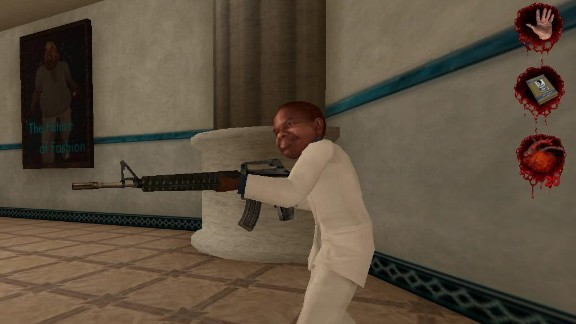 """Perhaps the least objectionable aspect of """"Postal 2 was a cameo appearance by actor Gary Coleman, who died in 2010."""