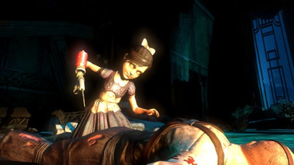 """""""Bioshock"""" was a groundbreaking game and a hit with critics. But some were troubled by the """"Little Sisters,"""" mutated versions of young girls that a player may choose to fight and kill."""