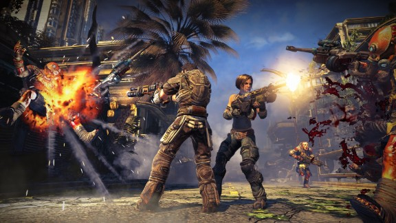"""How out of control does the violent video game debate sometimes get? One cable news channel speculated that """"Bulletstorm"""" could be the worst game ever and increase rapes -- before anyone had actually seen it."""