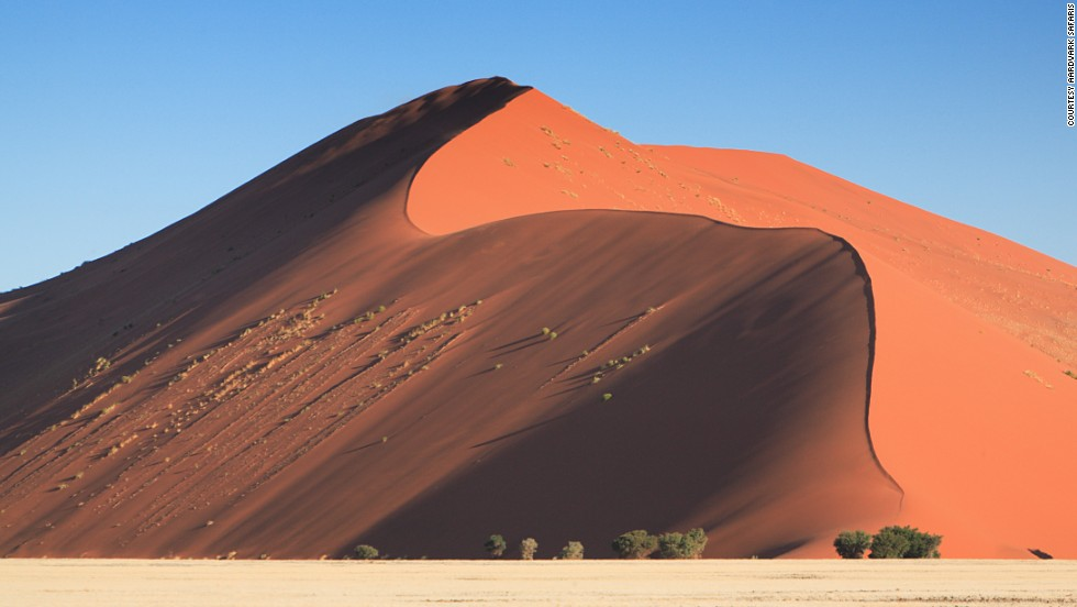 "Sossusvlei means ""the gathering place of water"" but you'll need to bring your own if you don't want to dehydrate at this, one of Namibia's most outstanding attractions."