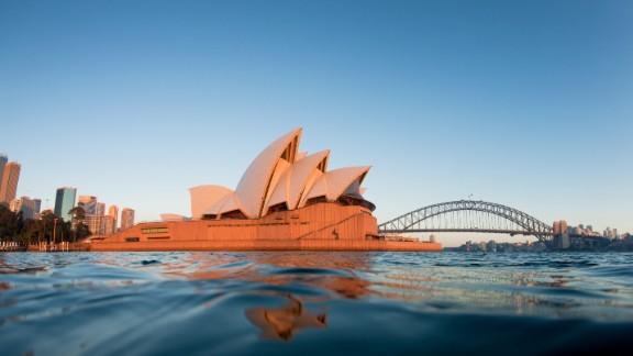 File photo of the Sydney Opera House.