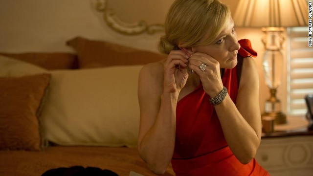 "Cate Blanchett stars as a troubled New York socialite in Allen's latest film ""Blue Jasmine."""