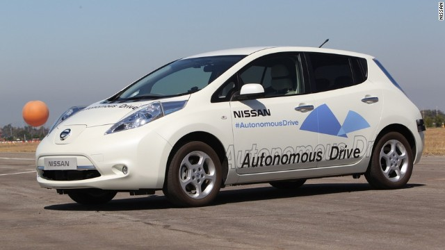 Nissan Self Driving Cars By 2020