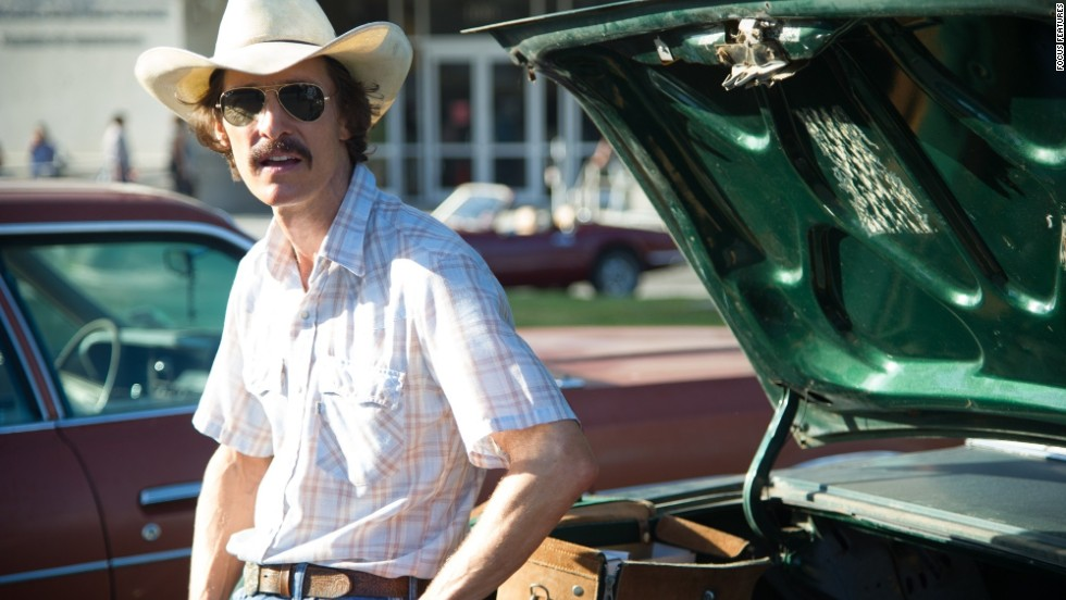 "<strong>Outstanding performance by a male actor in a leading role: </strong>Matthew McConaughey, ""Dallas Buyers Club"""
