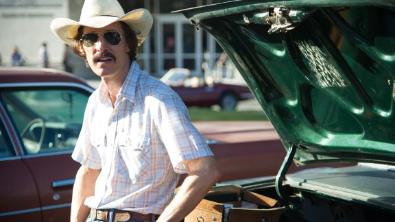 Matthew McConaughey stars as Ron Woodroof in 'Dallas Buyers Club.'