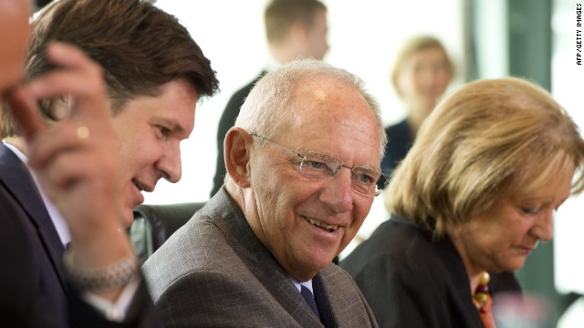 Schaeuble: EU labor markets need reform