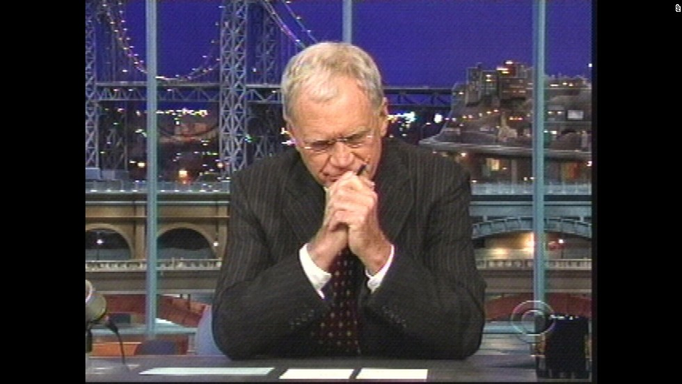 "In October 2009, Letterman made a stunning admission live on the air when he told his audience that he'd had sexual relationships with female members of his staff and that someone had been attempting to blackmail him as a result. The following Monday, he used his show <a href=""http://www.cnn.com/2009/SHOWBIZ/TV/10/05/david.letterman.apology/index.html?iref=allsearch"" target=""_blank"">to offer a ""heartfelt"" apology to his wife and to his female staffers.</a>"