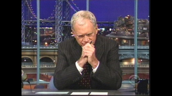 In October 2009, Letterman made a stunning admission live on the air when he told his audience that he
