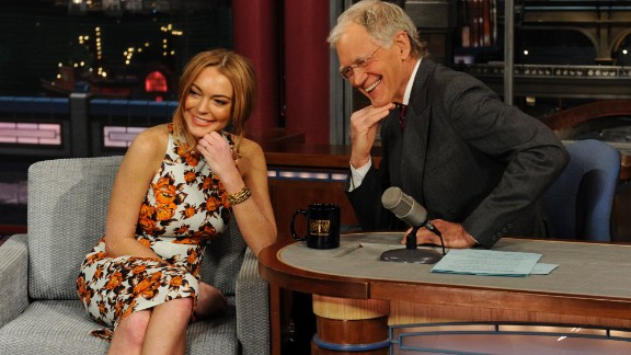 Prior to her court-mandated stint in rehab, Lindsay Lohan gave an emotional but also surprisingly endearing and transparent interview. Letterman, of course, didn