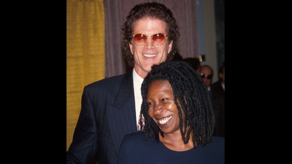 "Ted Danson and Whoopi Goldberg famously dated in 1993. The two played on-screen love interests in the comedy ""Made In America,"" and they were soon moving the romance off screen as well."
