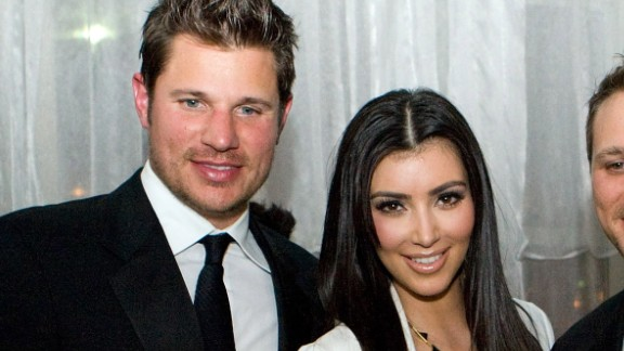 Yes, before Kanye, Kris or Reggie, Kim Kardashian apparently had a little something going with Nick Lachey after his 2005 divorce from Jessica Simpson. Lachey told Details magazine that they had a date in 2006, but he thinks it was a ploy for Kardashian to be seen with an MTV-famous boy band member.