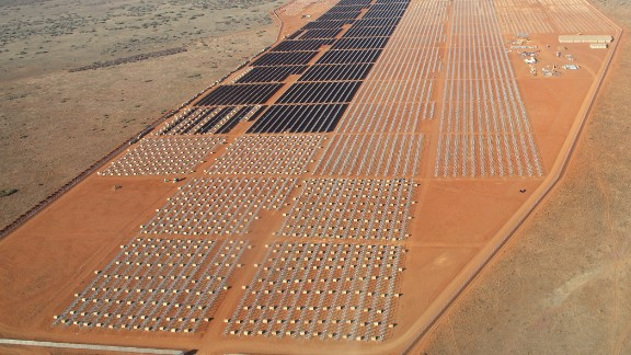Renewable solar energy firm SolarReserve has 238MW of solar projects in construction in South Africa, including the Google-backed Jasper Power Project (pictured here).