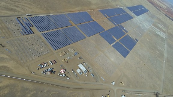 Jasper is scheduled to enter into operation at the end of next year. Pictured here, SolarReserve's Letsatsi Power Project in Bloemfontein.