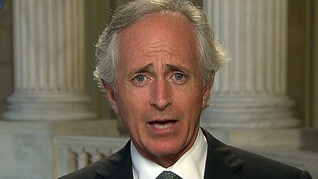 Corker: Let Congress authorize strike