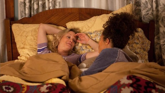 'The Fosters': Teri Polo and Sherri Saum as characters Stef Foster and Lena Adams, co-moms of an eclectic blended family.