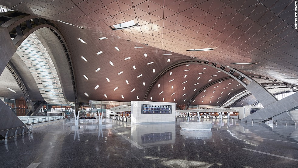 When completed, Hamad International will be 2/3 the size of the city of Doha and will be able to accommodate 50 million yearly passengers (it currently served 18 million). <br />