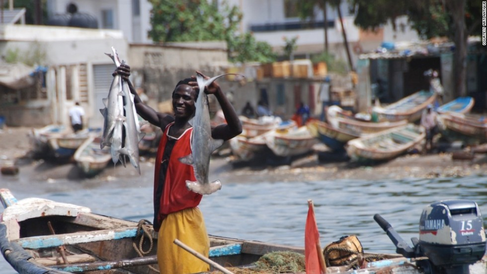 Fishermen in Senegal decorate their boats with vivid colors and mysterious designs mixing tradition and religious beliefs.