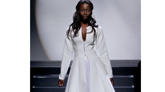 Ernest Mahomane was trained by, and works with,  South African born designer Gavin Rajah.