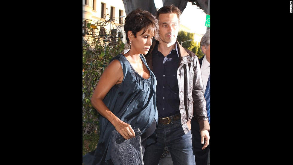 Halle Berry's baby bump crossed the Atlantic and back this summer as the 47-year-old actress tied the knot for the third time with fellow actor Olivier Martinez.