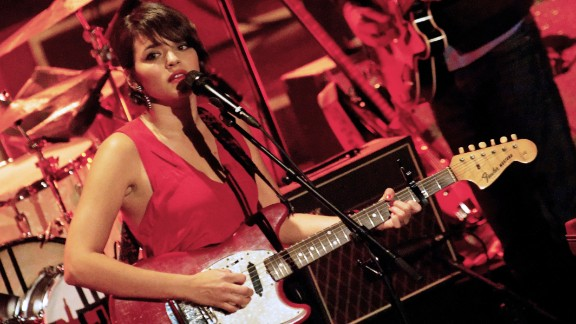 Norah Jones, best known for her singing and piano skills, also learned to play the guitar and alto saxophone as a kid.