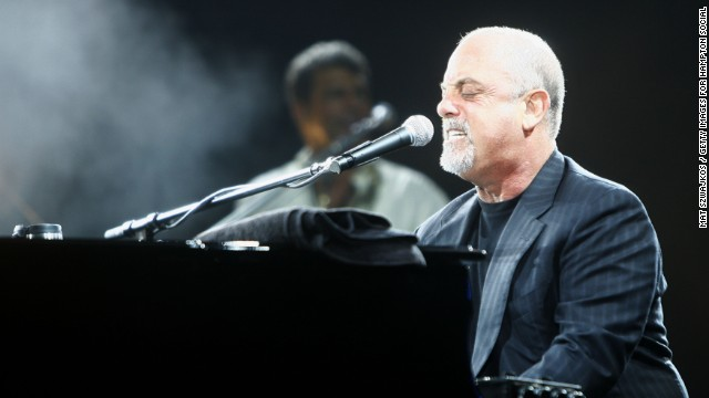 EAST HAMPTON, NY - AUGUST 4: Musician Billy Joel performs at the Hampton Social @ Ross at the Ross School on August 4, 2007, in East Hampton, New York. (Photo by Mat Szwajkos / Getty Images for Hampton Social @ Ross)