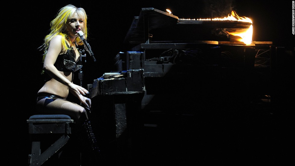 "Lady Gaga also got a very early start, learning to <a href=""http://www.biography.com/people/lady-gaga-481598"" target=""_blank"">play the piano by the age of 4 </a>and writing her first piano ballad when she was 13."