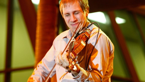 """Jimmy DeMartini of the Zac Brown Band says he was introduced to the violin during middle school orientation and """"was lucky enough"""" to play it through high school."""