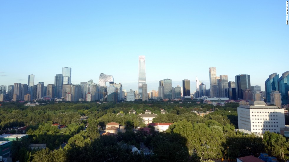 Even in Beijing, glorious days like this one come along once in a while. All photos in this gallery were taken August 29.