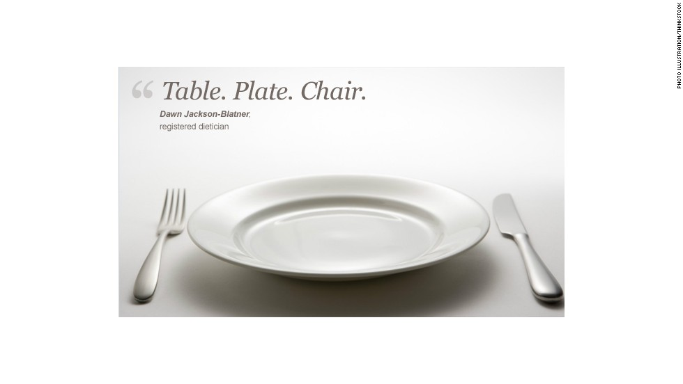 TablePlateChair