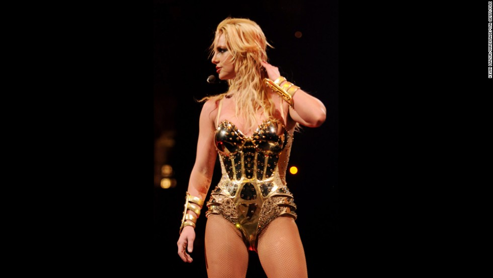 "While in Vancouver in 2009, Britney Spears strongly wished her audience had said no to drugs. The pop star was so aggravated by the smell of cigarette and other kinds of smoke that she cut the concert short 15 minutes in. Spears did eventually come back to the stage, but she didn't sound too happy about it -- she ended the concert by saying, ""<a href=""http://www.people.com/people/article/0,,20271319,00.html"" target=""_blank"">Vancouver, don't smoke weed</a>."" She is seen at an earlier show on the tour."