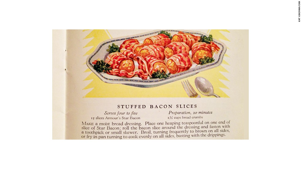 Stuffed Bacon Slices: Slices of Real Flavor, Armour and Company (1925)