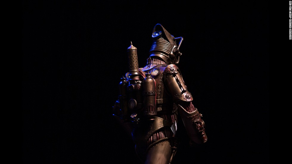 Andrew Smith won Best Novice as Steampunk Cyberman.