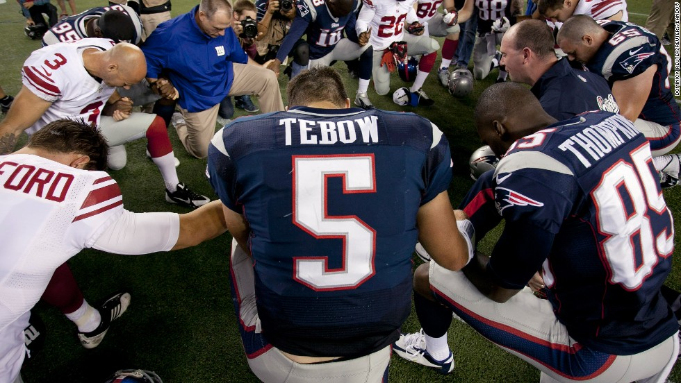 newest d86eb d1141 Tim Tebow released by New England Patriots - CNN