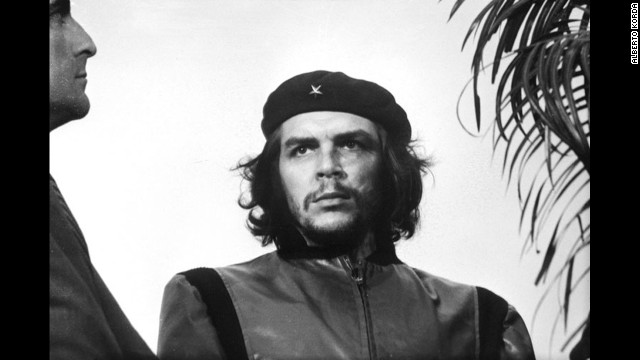 http://en.wikipedia.org/wiki/Guerrillero_Heroico Che Guevara, Havana, Cuba. Photo taken on March 5, 1960, published within Cuba in 1961, internationally in 1967.